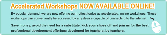 Accelerated workshops now available online